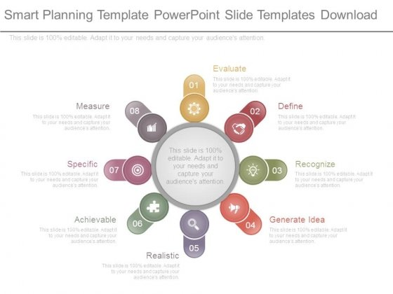 Smart Planning Template Powerpoint Slide Templates Download