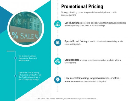 Smart Software Pricing Strategies Promotional Pricing Ppt Inspiration Graphic Tips PDF