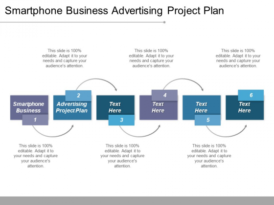 Smartphone Business Advertising Project Plan Ppt PowerPoint Presentation Ideas Master Slide