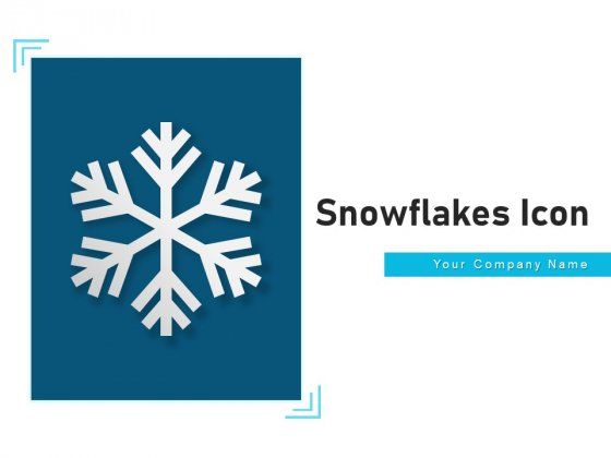Snowflakes Icon Cloud Circle Ppt PowerPoint Presentation Complete Deck