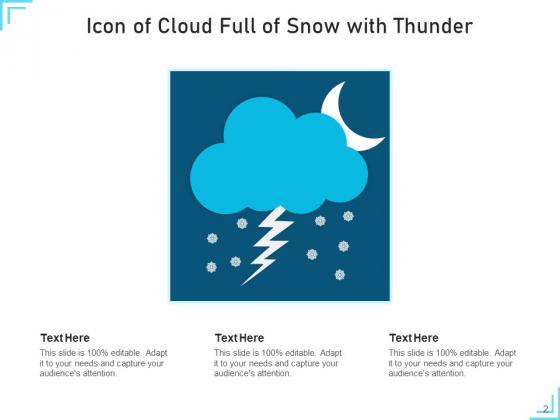 Snowflakes_Icon_Cloud_Circle_Ppt_PowerPoint_Presentation_Complete_Deck_Slide_2
