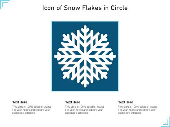 Snowflakes_Icon_Cloud_Circle_Ppt_PowerPoint_Presentation_Complete_Deck_Slide_4