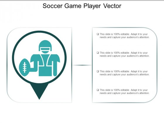 Soccer Game Player Vector Ppt PowerPoint Presentation Layouts Visuals