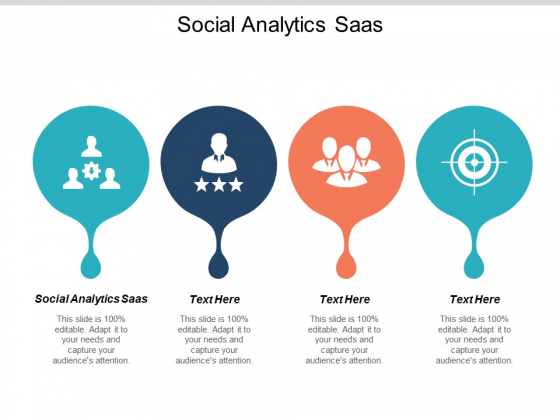 Social Analytics Saas Ppt PowerPoint Presentation Professional Background Designs Cpb