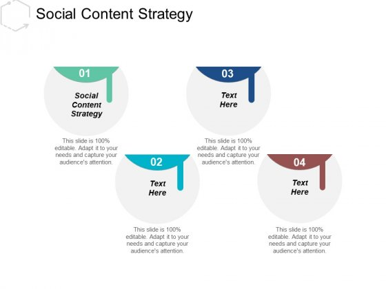 Social Content Strategy Ppt PowerPoint Presentation Pictures Graphic Images Cpb