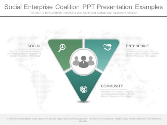 Social Enterprise Coalition Ppt Presentation Examples