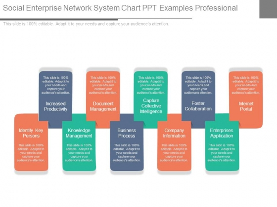 Social Enterprise Network System Chart Ppt Examples Professional