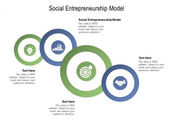Social Entrepreneurship Model Ppt PowerPoint Presentation Slides Deck Cpb Pdf