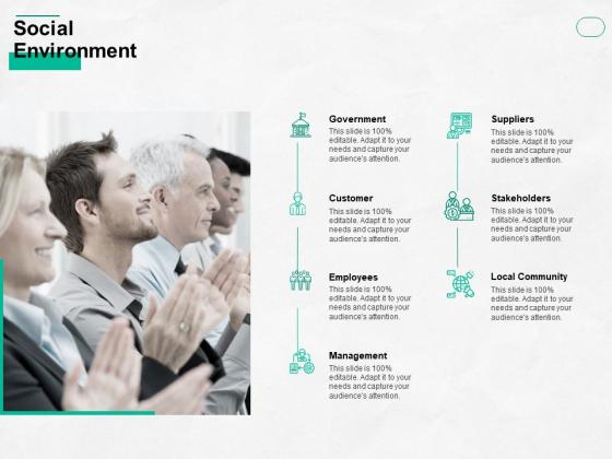 Social Environment Ppt PowerPoint Presentation Show Sample