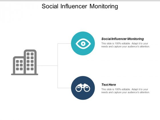 Social Influencer Monitoring Ppt PowerPoint Presentation Infographics Design Ideas Cpb