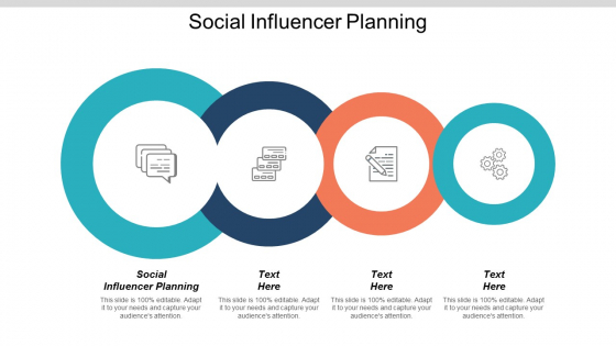 Social Influencer Planning Ppt PowerPoint Presentation Show Format Cpb