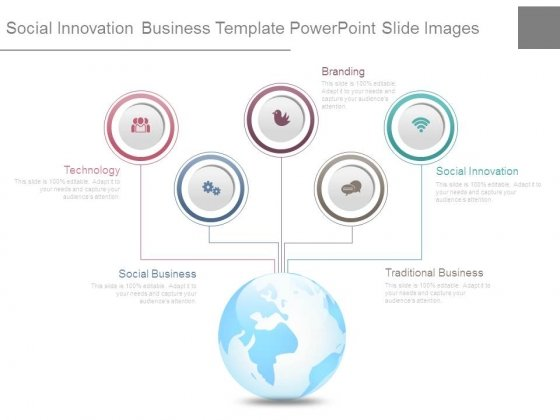 Social Innovation Business Template Powerpoint Slide Images