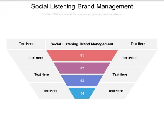 Social Listening Brand Management Ppt PowerPoint Presentation Summary Infographic Template Cpb Pdf