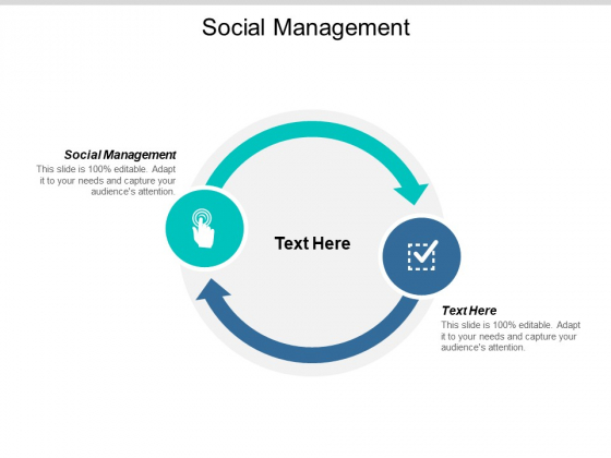 Social Management Ppt PowerPoint Presentation Infographics Mockup Cpb