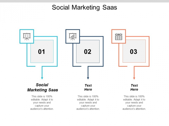 Social Marketing Saas Ppt PowerPoint Presentation Icon Picture Cpb