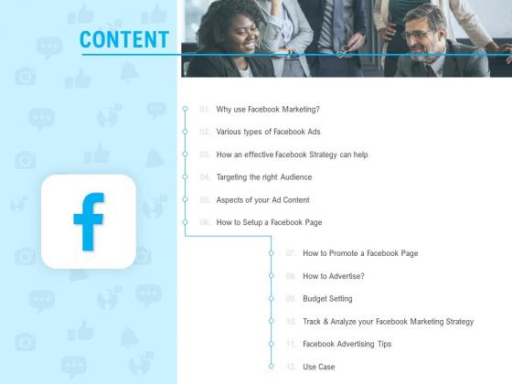 Social Media Advertisement Content Ppt File Outline PDF