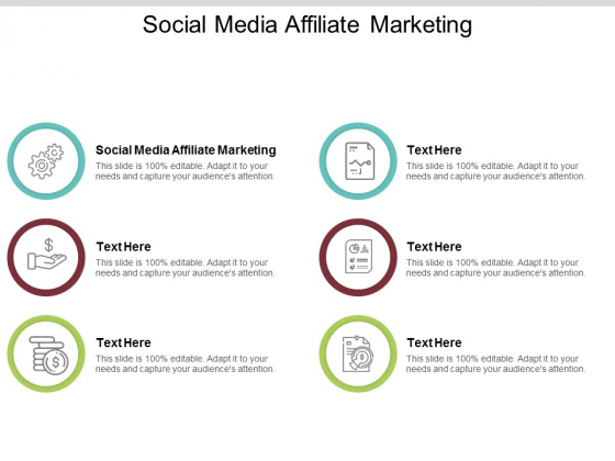 Social Media Affiliate Marketing Ppt PowerPoint Presentation Professional Aids Cpb