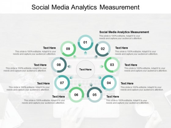 Social Media Analytics Measurement Ppt PowerPoint Presentation Professional Structure Cpb