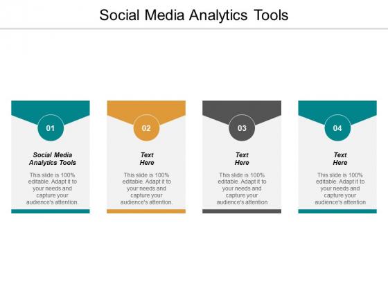 Social Media Analytics Tools Ppt PowerPoint Presentation Layouts Topics Cpb