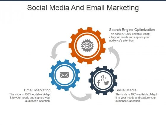 Social Media And Email Marketing Ppt PowerPoint Presentation File Model