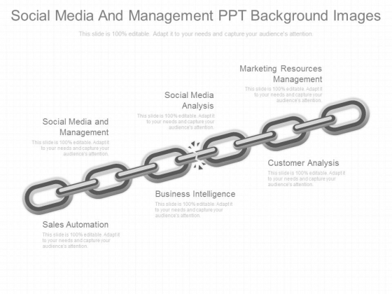 Social Media And Management Ppt Background Images