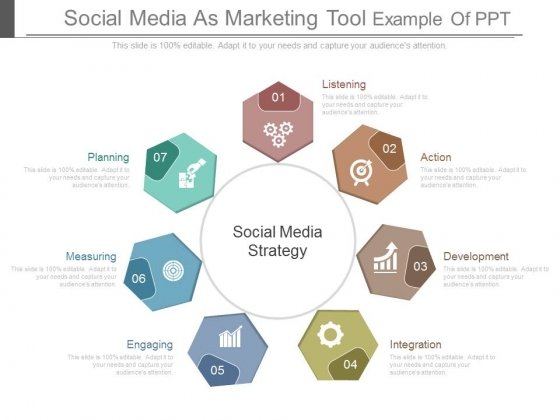 Social Media As Marketing Tool Example Of Ppt