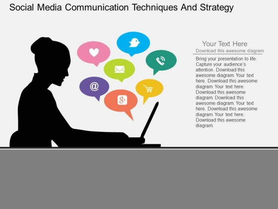 social media communication plan template - powerpoint templates communication gallery powerpoint