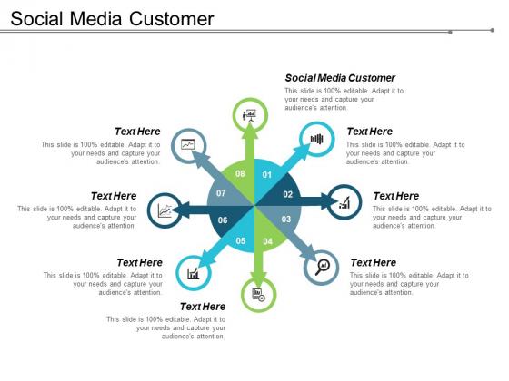 Social Media Customer Ppt Powerpoint Presentation Icon Tips Cpb