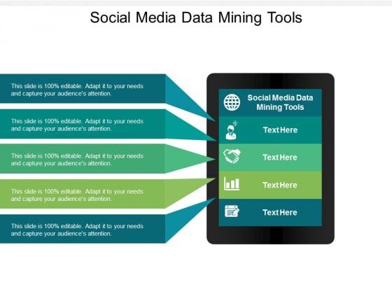 Social Media Data Mining Tools Ppt PowerPoint Presentation Model Summary Cpb