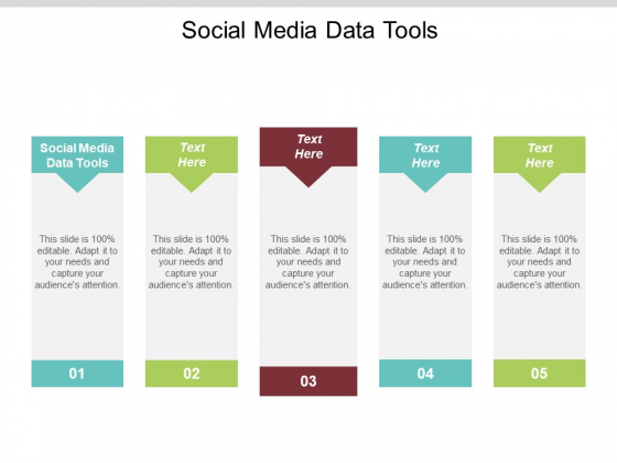 Social Media Data Tools Ppt PowerPoint Presentation Show Example File Cpb