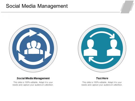 Social Media Management Ppt PowerPoint Presentation Slides Background Designs