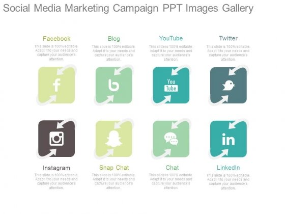 Social Media Marketing Campaign Ppt Images Gallery