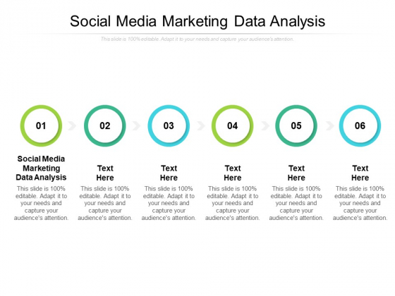 Social Media Marketing Data Analysis Ppt PowerPoint Presentation Model Vector Cpb