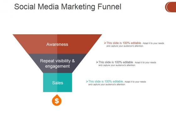 Social Media Marketing Funnel Ppt PowerPoint Presentation Ideas Graphics Download