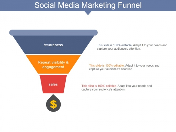 Social Media Marketing Funnel Ppt PowerPoint Presentation Portfolio Good