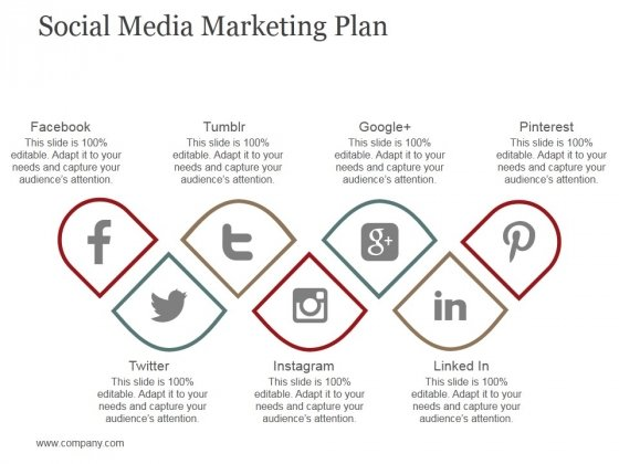Social Media Marketing Plan Ppt PowerPoint Presentation Gallery File Formats