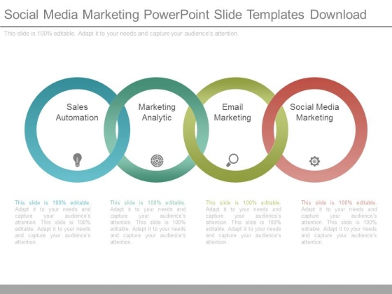 Social Media Marketing Powerpoint Slide Templates Download