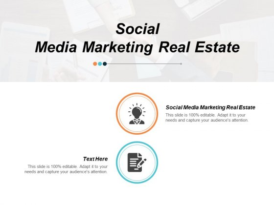 Social Media Marketing Real Estate Ppt PowerPoint Presentation File Outfit Cpb