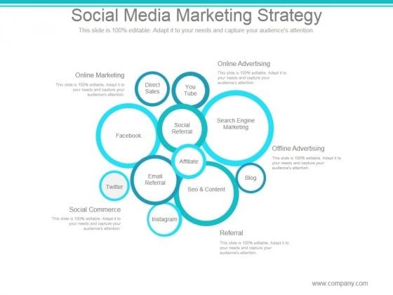 Social Media Marketing Strategy Ppt PowerPoint Presentation Graphics