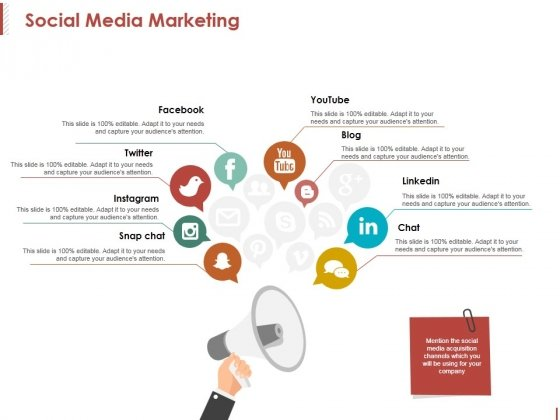 Social Media Marketing Template 1 Ppt PowerPoint Presentation Summary Graphics Template