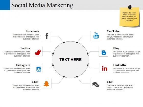 Social Media Marketing Template 2 Ppt PowerPoint Presentation Ideas Sample