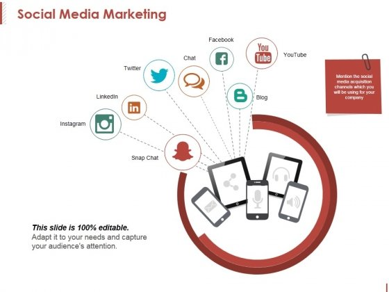 Social Media Marketing Template 2 Ppt PowerPoint Presentation Infographics Good