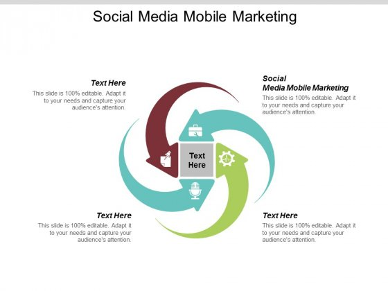 Social Media Mobile Marketing Ppt PowerPoint Presentation Professional Slide Portrait Cpb