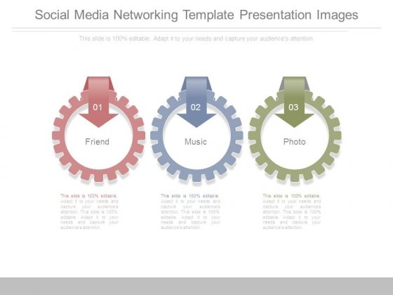 Social Media Networking Template Presentation Images