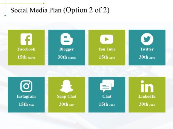 Social Media Plan Template 3 Ppt PowerPoint Presentation Outline Example Topics