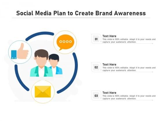 Social_Media_Plan_To_Create_Brand_Awareness_Ppt_PowerPoint_Presentation_Outline_Clipart_PDF_Slide_1