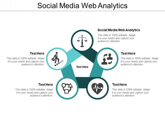 Social Media Web Analytics Ppt PowerPoint Presentation Gallery Smartart Cpb