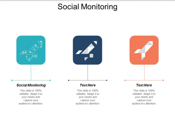 Social Monitoring Ppt PowerPoint Presentation Infographic Template Slide Download Cpb