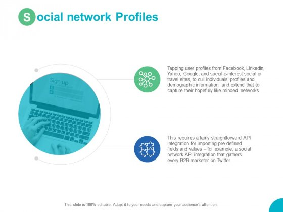 Social Network Profiles Technology Ppt PowerPoint Presentation Styles Deck