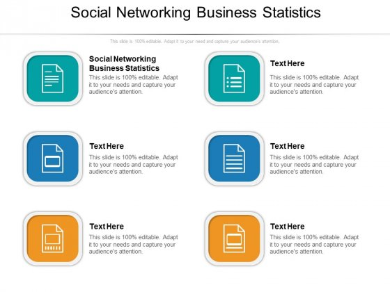 Social Networking Business Statistics Ppt PowerPoint Presentation Professional Show Cpb Pdf